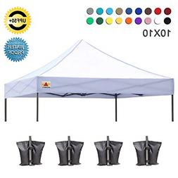 ABCCANOPY 10' X 10'Pop up Canopy Tent Replacement Ca