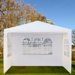 10' x 10' Durable Screen Gazebo Tent, Backyard Party Tent wi