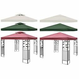 10' X 10' Gazebo Top Cover Patio Canopy Replacement 1-Tier o