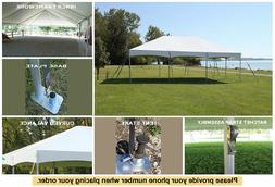 10' x 10' Master Series Frame Tent Marquee Gazebo Party Cano