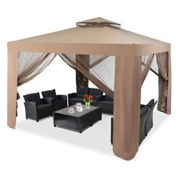 "10""x 10"" Outdoor Tent Patio Garden Canopy Gazebo Party Tent"