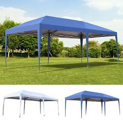 10' x 20' Outdoor Gazebo Pop Up Canopy Party Tent with 2