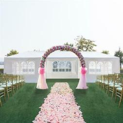 "10"" x 30"" Outdoor Canopy Party Tent Wedding Tent Patio Heavy"