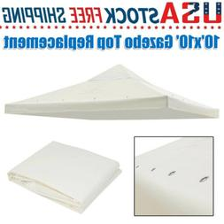 10'x10' Canopy Top Replacement for Single-Tier Gazebo Cover