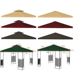 10'x10' Gazebo Tent Top Canopy Replacement Sunshade Patio Ou