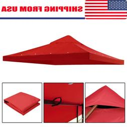 10'x10' Gazebo Top Replacement for 1 Tier Outdoor Canopy Cov