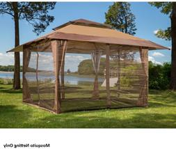 10'x10' Mosquito Netting Panels for Gazebo Canopy Patio Mosq