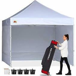 10' x10'Outdoor Slant Leg EZ Pop Up Canopy Wedding Party Ten