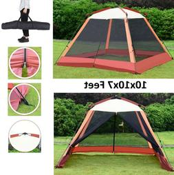 10'x10' Pop Up Party Tent Patio Gazebo Canopy Mosquito Mesh