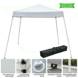 10'x10' Pop Up Wedding Party Tent Folding Gazebo Sun Shade C