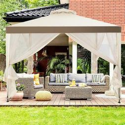 10 x12 Gazebo Outdoor Garden Netting Patio  Canopy For Party