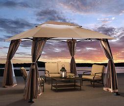 10'x13' Outdoor Patio Gazebo Canopy Tent Home backyard garde