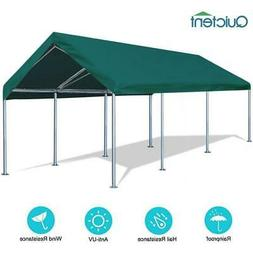 Quictent 10x20FT Carport Car Shelter Canopy Outdoor Heavy Du