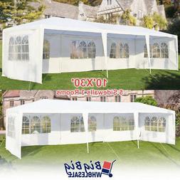 10'x30' Wedding Outdoor Canopy Gazebo Tent Heavy Duty Party