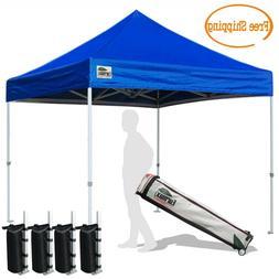 10X10 Ez Pop Up Canopy Heavy Duty Commercial Patio Gazebo In