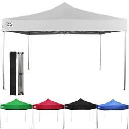Impact Canopy 10x10 EZ Pop Up Canopy Tent Aluminum Outdoor G