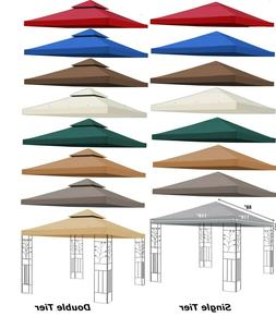 8x8' 10x10' Gazebo Canopy Replacement Patio Outdoor Top Cove