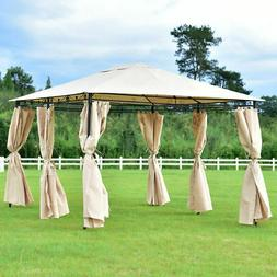 10'x13' Gazebo Canopy Shelter Patio Party Tent Outdoor A