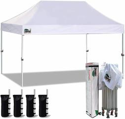 10X15 Ez Pop Up Canopy Commercial Instant Shade Party Weedin