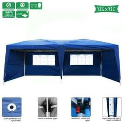 10X20' Outdoor EZ Pop Up Tent Folding Gazebo Wedding Party C