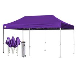 10X20 Purple EZ Pop Up Canopy Outdoor Party Weeding Instant