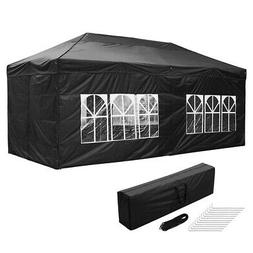 10x20ft Pop Up Canopy Instant Folding Gazebo Patio Outdoor P