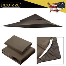 12'x12' Waterproof Outdoor Canopy Top Replacement Cover for