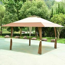 13x13 folding gazebo canopy shelter awning tent