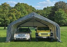 "ShelterLogic 18x20x10'6"" Peak Storage Garage Portable Carpor"