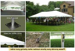 20x40 Classic Frame Tent White Wedding Outdoor Party Event T