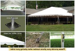 30'x45' Celina Tent Classic Series Frame Tent Complete for W