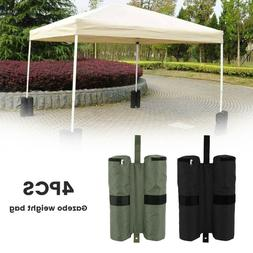 4PC Portable Weight Sand Bag for Patio Gazebo Outdoor Pop Up