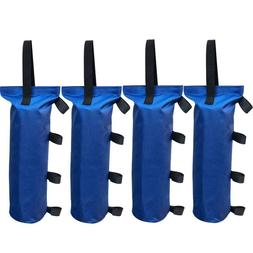 4Pcs Blue Monoshock Sand Bag Weight For Ez Pop Up Canopy Out