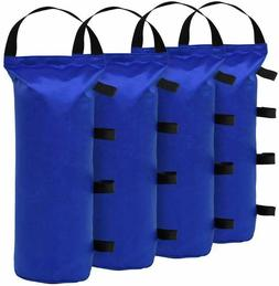 4pcs Blue Monoshock Sand Bag Weight Bag For Instant Canopy T