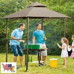 Gazebos Outdoor Barbecue Grill Gazebo Canopy Tent BBQ Shelte