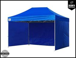 Eurmax 8x12 Ez Pop up 4 Wall Canopy Instant Outdoor Party Te