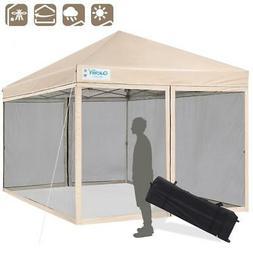 Quictent 8x8 Wedding Party Canopy Tent Outdoor Folding EZ Po