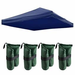 9.5x9.5 Ft Pop Up Canopy Top Replacement for Patio Gazebo wi