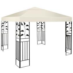 9.8' x 9.8' Gazebo Top Cover Patio Canopy Replacement 1-Tier