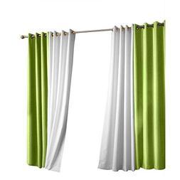 Outdoor Decor Gazebo Grommet Outdoor Curtain Panel Green 50