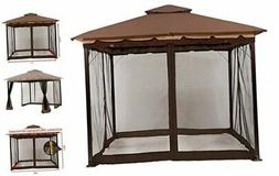 ABCCANOPY Gazebo Mosquito Netting Screen Walls for 10' x 12'