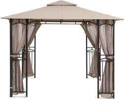 Abccanopy Gazebo Mosquito Netting Screen Walls For 10'X 10',