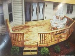 Angled Corner Deck Plans Do-it-yourself Building Blueprints