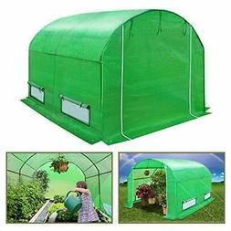 BenefitUSA GH055 Outdoor Green Walk in Garden Canopy Gazebo