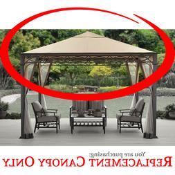 BHG Courts Landing 12x10 FT Gazebo Canopy with Valance **CAN