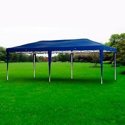 Blue 10'x20' Pop Up Party Canopy Tent Heavy Duty Gazebo Ad