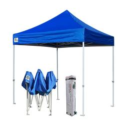 Blue 8x8 Ez Pop Up Canopy Outdoor Easy Sports Patio Tent She