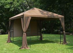 Canopy Mesh 10 x 10 US Gazebo Mosquito Net Zippered Screen B