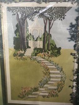 Paragon Creative Crewel Embroidery Stitchery Kit Gazebo Pict