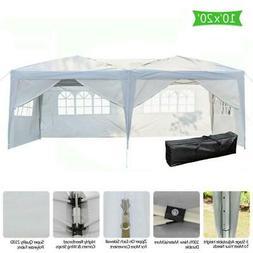 Ez Pop Up Gazebo Wedding Party Tent Folding Coffee Canopy w/